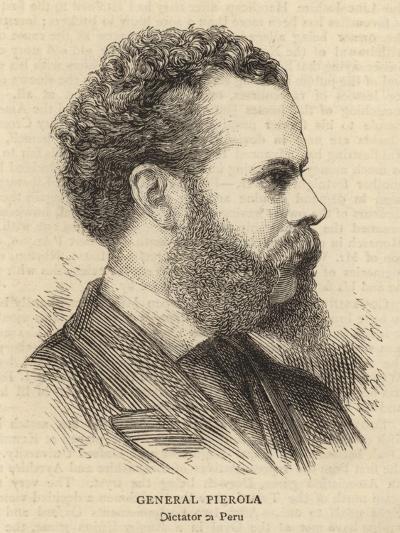 General Pierola--Giclee Print
