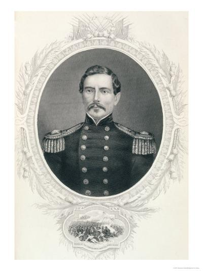 "General Pierre Gustave Toutant Beauregard from ""The History of the United States""--Giclee Print"
