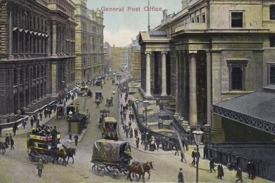 General Post Office, London--Photographic Print