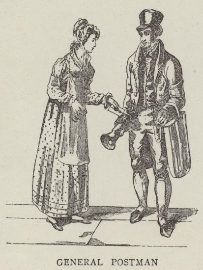 General Postman--Giclee Print