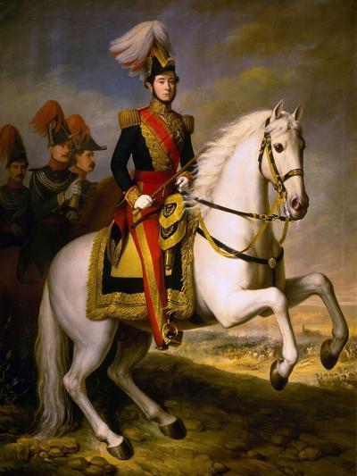 General Prim, 19th Century, Spanish School-Antonio Maria Esquivel-Giclee Print