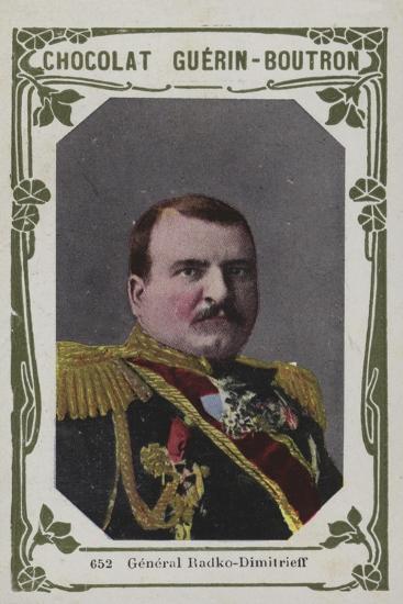 General Radko-Dimitrieff--Giclee Print