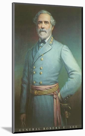 General Robert E. Lee--Mounted Art Print