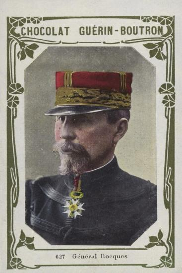 General Rocques--Giclee Print