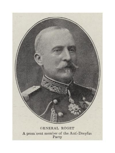 General Roget--Giclee Print