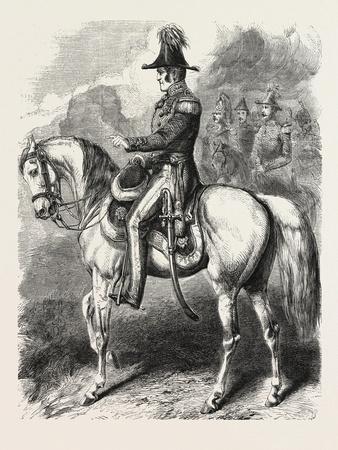 General Simpson, Commander of the British Army before Sebastopol. the Crimean War, 1855,--Giclee Print