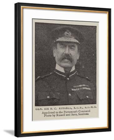 General Sir B C Russell--Framed Giclee Print