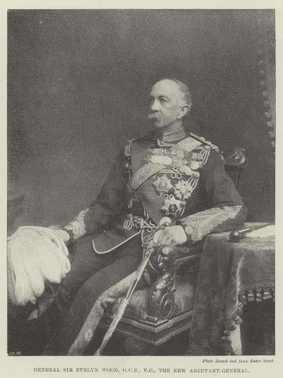 General Sir Evelyn Wood, the New Adjutant-General--Giclee Print