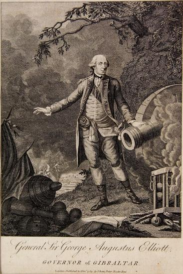 General Sir George Elliott, Governor of Gibraltar, 1783--Giclee Print