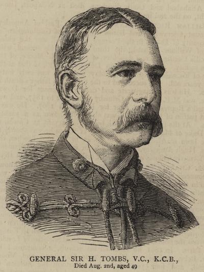 General Sir H Tombs--Giclee Print
