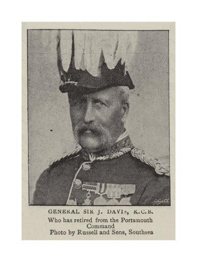 General Sir J Davis, Kcb--Giclee Print