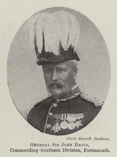 General Sir John Davis, Commanding Southern Division, Portsmouth--Giclee Print