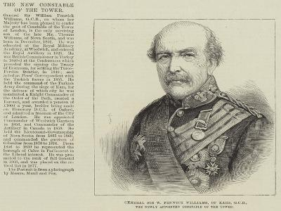 General Sir W Fenwick Williams, of Kars, Gcb, the Newly Appointed Constable of the Tower--Giclee Print