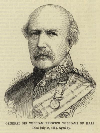 General Sir William Fenwick Williams of Kars--Giclee Print