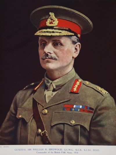 General Sir William R. Birdwood, 1914-19-Alexander Bassano-Giclee Print