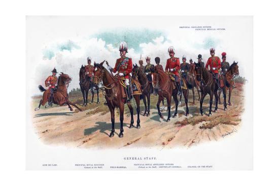 General Staff, 1902-R Simkin-Giclee Print