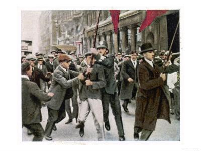 General Strike 1926--Giclee Print