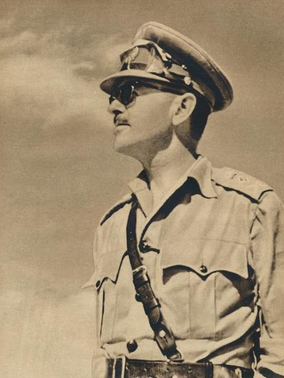 'General the Hon. Sir Harold Alexander', 1943-Unknown-Photographic Print