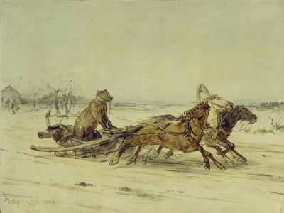 General Toptygin, 1875-Pyotr Petrovich Sokolov-Giclee Print