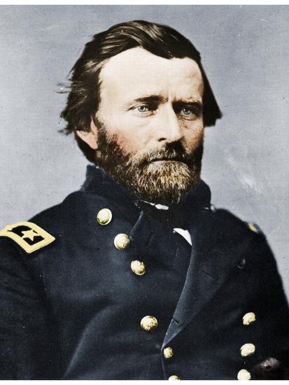 General Ulysses S Grant, American soldier and politician, c1860s (1955)-Unknown-Photographic Print