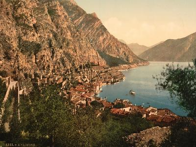 General View, Limone, Lake Garda, Italy, C.1890-C.1900--Giclee Print