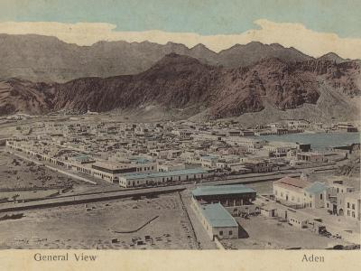 General View of Aden--Photographic Print