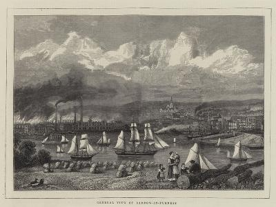 General View of Barrow-In-Furness--Giclee Print