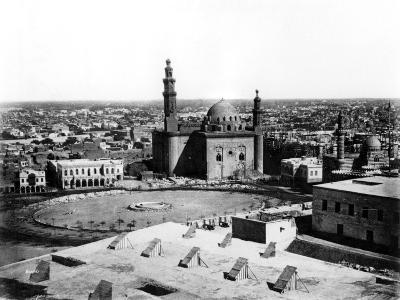 General View of Cairo, Egypt, 1878-Felix Bonfils-Giclee Print