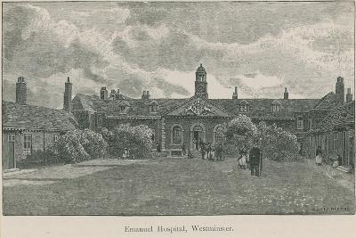 General View of Emanuel Hospital-English School-Giclee Print