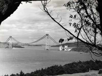 General View of Golden Gate Bridge--Photographic Print
