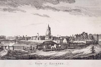 General View of Hackney, London, C1800--Giclee Print