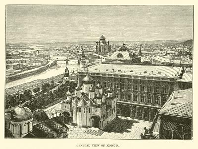 General View of Moscow--Giclee Print