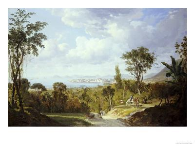 General View of Panama, 1852-Ernest Charton-Giclee Print