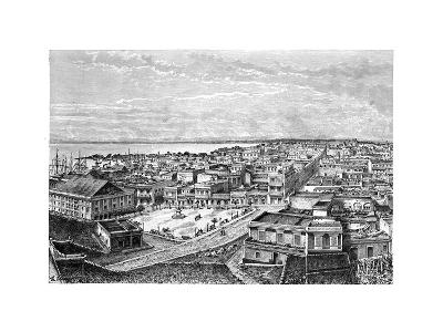 General View of San Juan Bautista, Puerto Rico, C1890-A Kohl-Giclee Print