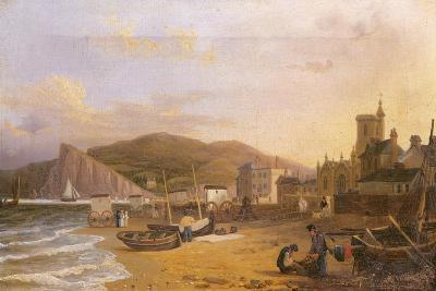 General View of Teignmouth, 1820-Richard Hume Lancaster-Giclee Print
