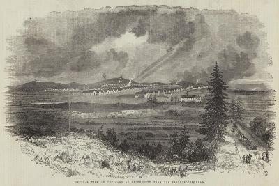 General View of the Camp at Aldershott, from the Farnborough Road--Giclee Print