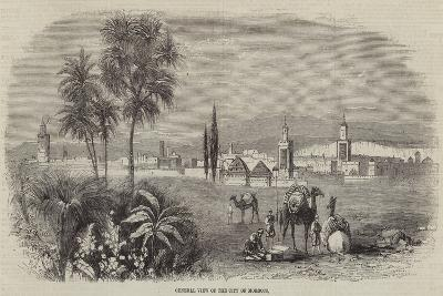 General View of the City of Morocco--Giclee Print