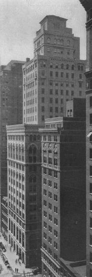 General view of the Johns-Manville Building, New York City, 1924-Unknown-Photographic Print