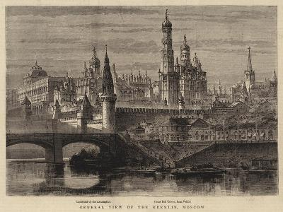 General View of the Kremlin, Moscow--Giclee Print