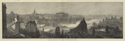 General View of the Ruins after the Great Fire at Boston--Giclee Print