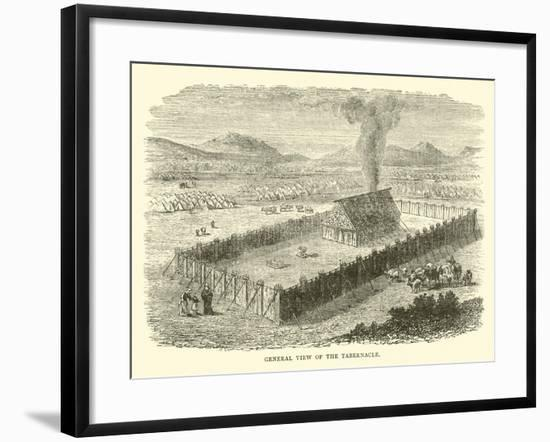 General View of the Tabernacle--Framed Giclee Print