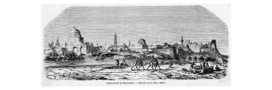 General View of the Town, Seen from the Farther Bank of the Tigris--Giclee Print