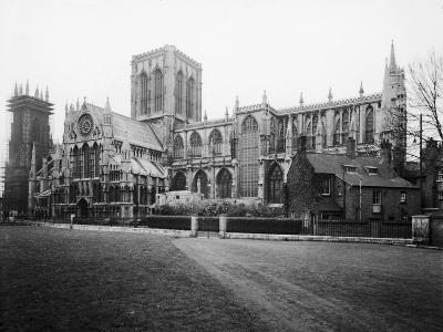 General view of York Minster, 1984-Staff-Photographic Print