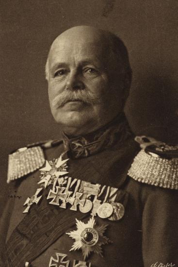 General Von Eichorn--Photographic Print