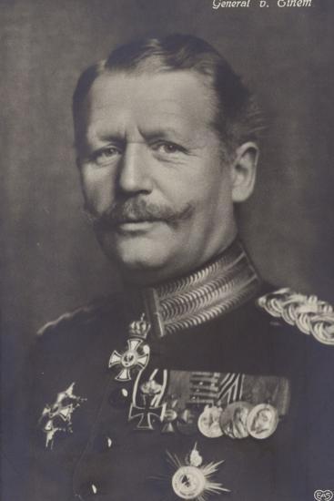 General Von Einem--Photographic Print