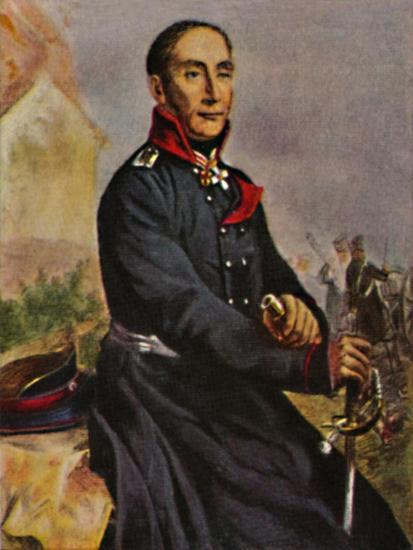 'General von Tauentzien 1760-1824', 1934-Unknown-Giclee Print