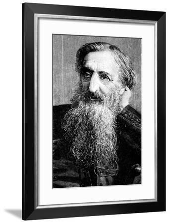 General William Booth, Evangelical Social Worker and Founder of the Salvation Army, 1894--Framed Giclee Print