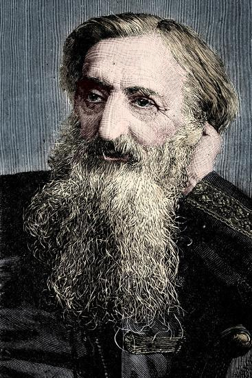 'General' William Booth, evangelical social worker and founder of the Salvation Army, 1894-Unknown-Giclee Print