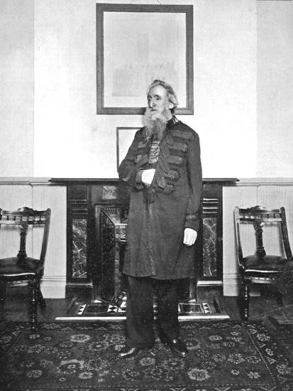 General William Booth, Evangelical Social Worker and Founder of the Salvation Army, 1903--Photographic Print