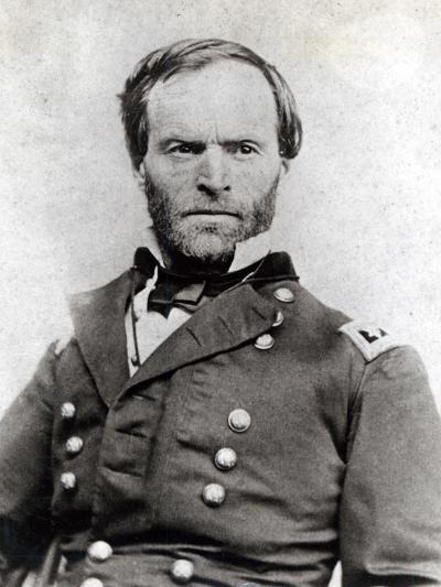 General William Tecumseh Sherman (1820-91)--Photographic Print